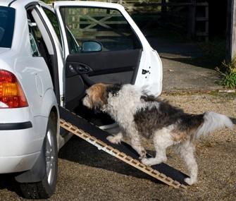 Using a car ramp