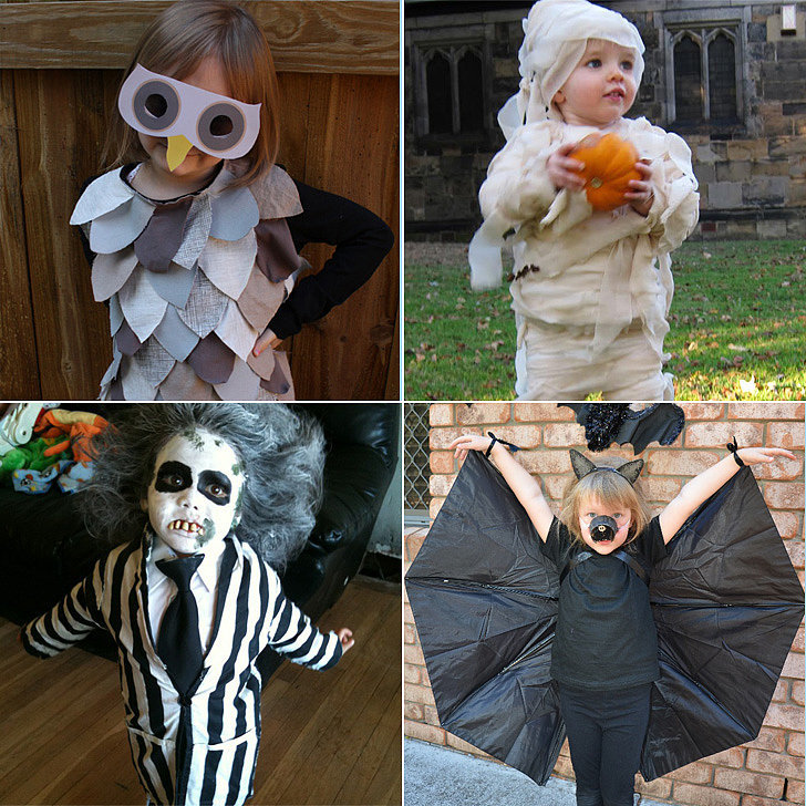 kids in costume
